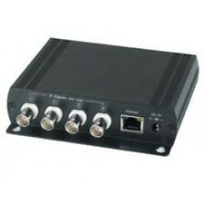 BlueCCTV 4CH IP extender over coax cable with 5 port ethernet switch kit package