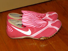 Nike Zoom Celar Cleat 333502 HOT PINK Running Track Athletic Womens Shoes Sz 7.5