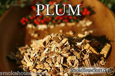 PLUM Wood for Smoking Food, BBQ Smoker Wood Chips,for Smoker 1.75L NEXT DAY POST