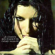 ☆ CD SINGLE Laura PAUSINI Je chante FRANCESE 2T RARE ☆