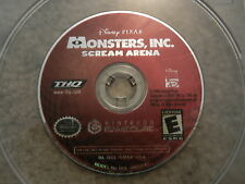 ***MONSTERS INC SCREAM ARENA NINTENDO GAMECUBE GAME DISC ONLY***