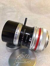 Bolex Macro Switar 26mm 1.1 H16 RX Preset Lens, Cover Super-16 GF1 GH1 Formats
