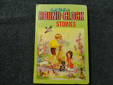 ROUND THE CLOCK STORIES By Enid Blyton ( HARDCOVER BOOK )#