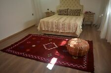 handmade moroccan rug azilal carpet beni ourain beber Large cotton and wool rug