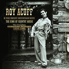ROY ACUFF New Sealed Ltd 2017 COMPLETE 1936 -1951 DVD & 9 CD BOXSET