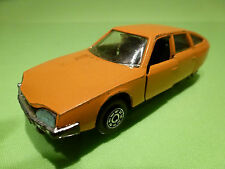 NOREV 845 CITROEN CX 2200 1974 - ORANGE 1:43 - RARE SELTEN - GOOD CONDITION