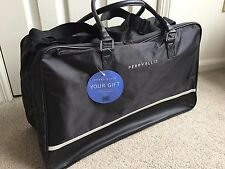 NWT Perry Ellis Black Duffle Gym Travel Bag