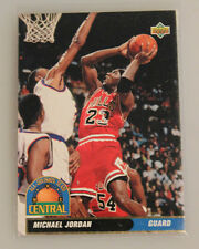 1992-93 Upper Deck Michael Jordan All-Division spanische Version