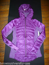 Lululemon DOWN FOR A RUN JACKET TEVI  SZ 2 NWT-NO NY SHIPPING