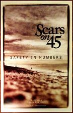 SCARS ON 45 Safety In Numbers 2014 Ltd Ed New RARE Poster +FREE Indie/Pop Poster