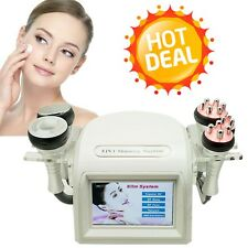 USA 5 IN1 40K Cavitation Ultrasonic RF Radio Frequency Multipolar Vacuum Machine