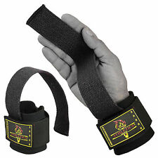 Gel Padded Weight Lifting Gym Straps Hand Bar Wrist Support Gloves Wrap