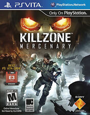 PSVita - KILLZONE Mercenary - BRAND NEW & SEALED - Fast Shipping