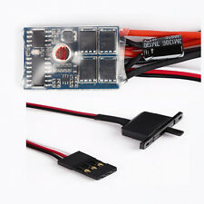 RC 10A ESC Brushed Speed Control for 1/16 1/18 1/24 Car Boat Tank No Brake DIY