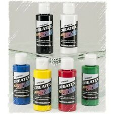 Createx Airbrush color | 6 x 60ml | Opaco Set #115299