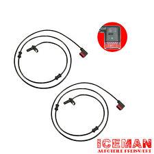 2x ABS Sensor abssensor hinten MERCEDES-BENZ eklasse E-KLASSE W211 E200 S211