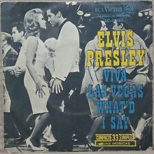 Elvis Presley PS single from Brazil - Viva Las Vegas.