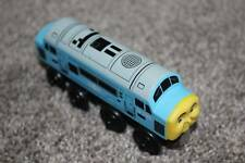 Thomas & Friends Wooden Diesel D199 the Train Wood Blue Learning Curve RARE HTF
