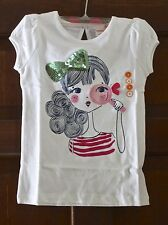 Girl's Gymboree Looking Glass Embellished Tee - size 5T