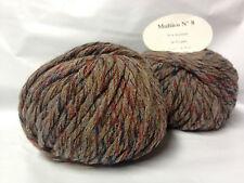 10 pelotes de grosse laine /tweedé/  fabriqué en France /