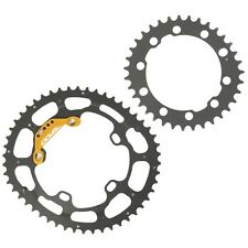 DOVAL Chainring Elliptical Oval 50/39T BCD130 Set for Road Bicycle microOCP