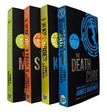 The Maze Runner 4 Book Trilogy Books James Dashner Young Adult Collection Set