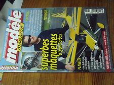 5µ?§ Revue Modele Magazine n°640 Plan encart Caudron 714  / L33 F-18 Hornet ....