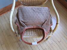 UGG Bag Large Chestnut Perforated Tote Glazed Pumpkin NEW
