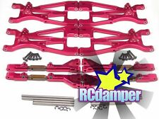 ALUMINUM FRONT+REAR UPPER LOWER ARM R HPI 1/8 SAVAGE 21 25 SS 3.5 4.6 FLUX X XL