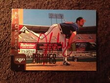John Smoltz Signed Autographed 1997 Upper Deck Baseball Card Single Auto BRAVES