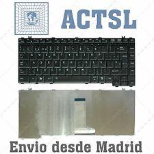 TECLADO ESPAÑOL PARA TOSHIBA TECRA G83C000872SP SIN POINT STICK NEGRO