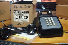 Vintage  Western Electric AT&T  2500MMG - Black Touch-Tone Traditional Table Des