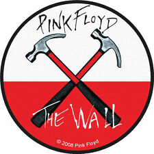PINK FLOYD - Patch Aufnäher - The Wall rund 9x9cm