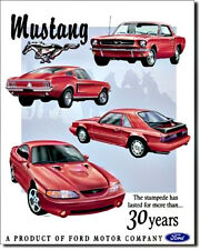 "Ford Mustang  ""Tribute"" Tin Metal Sign"