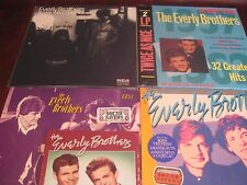EVERLY BROTHERS 32 HITS - EB 84 - BORN YESTERDAY+ STORIES + CADENCE 6 45'S BOX