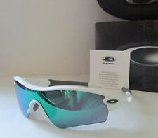 OAKLEY polished white/jade iridium RADAR PATH OO9051 09-767 sunglasses NEW!