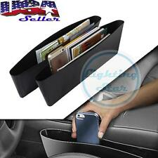 (2) Car Seat Seam Bag Storage Organizer Holders For Accessories Coins Cables
