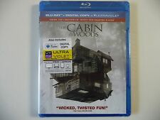 NEW/SEALED - The Cabin in the Woods (Blu-ray Disc, 2012)w/ Ultraviolet