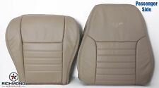 2000 Ford Mustang GT V8 -Passenger Complete Perforated Leather Seat Covers Tan
