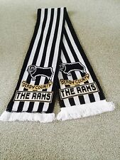 DERBY COUNTY FOOTBALL CLUB  SCARF.. THE RAMS .FREE POST.SUPPORTERS SCARF.