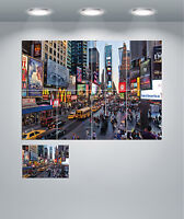 New York Time Square Cityscape Giant Wall Art Poster Print