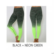 Women's Girl Yoga Running Pants High Waist Trousers Leggings Fitness Gym Clothes