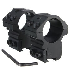 """Scope Rings 1"""" Dia For 22 cal For Air Rifle 3/8 Inch Dovetail Rail Low Profile"""