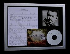 GEORGE MICHAEL Outside LTD GALLERY QUALITY CD FRAMED DISPLAY+EXPRESS GLOBAL SHIP