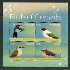 GRENADA GRENADINES  2015 BIRDS OF GRENADA SHEET MINT NEVER HINGED
