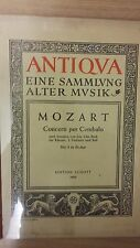 Mozart: concertos pour per cembalo: numéro 3: musique (E6)