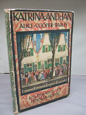 Katrina and Jane by Alice Cooper Bailey - Colour Illustrated 1923