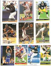 (10) 1993 Auburn University Tigers Alumni Cards NO DUPES! Barkley Bo Jackson