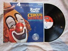 BARNUM & BAILEY RINGLING BROS LP CIRCUS SPECTACULAR decca phase 4 stereo 4122