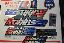 NOS ROBINSON Team Model DECALS BMX BICYCLE RACING  STICKERS